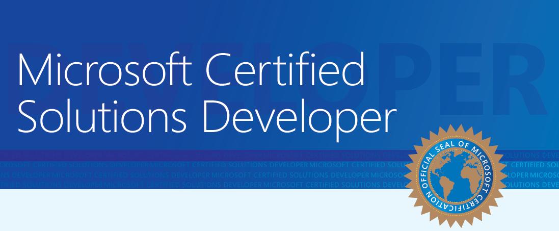 Microsoft Certified Solution Developer Platinum Data Recovery