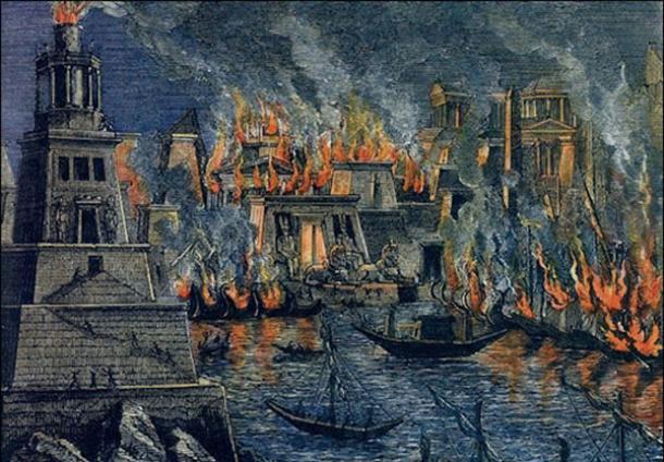 fire at alexandria