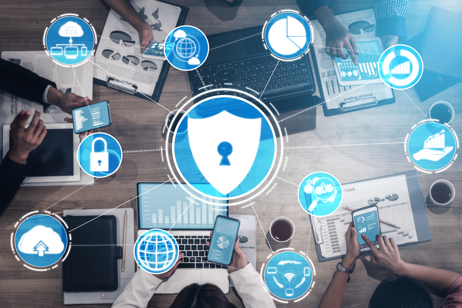 Top Four Cyber Security Threats to Businesses