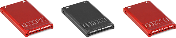 Red Mini-Mag Data Recovery